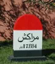 Moroccan mile marker - Fatima Killeen - www.fatimakilleen.com