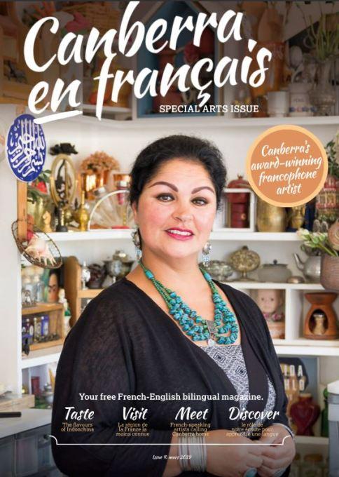Canberra en Francais Magezine-cover-www.fatimakilleen.com